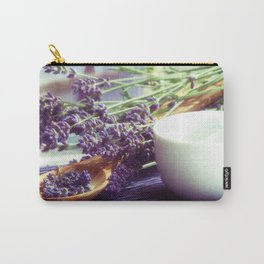 Lavender Time Carry-All Pouch