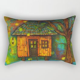 Little House on the Bayou  Rectangular Pillow