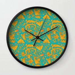 Dragon Paper Wall Clock