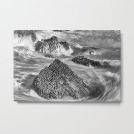 Around the Rocks Metal Print