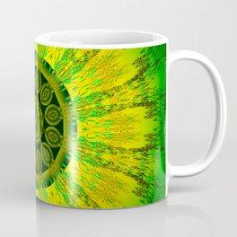 Lemon Lime Mandala Coffee Mug