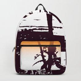 Goa palm trees Backpack