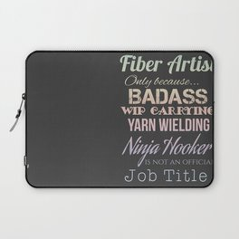 Fiber Artist Laptop Sleeve