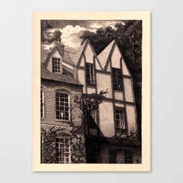 Windowpane Canvas Print