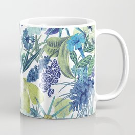 FLOWERPOWER (BLUE) Coffee Mug