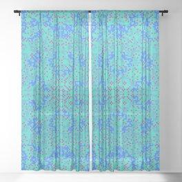 "CA Fantasy ""For Tiffany color"" series #10 Sheer Curtain"