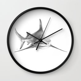 Shark III Wall Clock