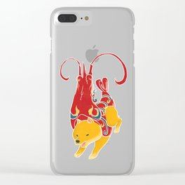 Prawn Funny Dog Costume - Sea Collection Clear iPhone Case