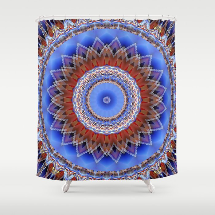 Mandala bonding Shower Curtain