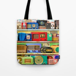 The Golden Age of Radio Tote Bag