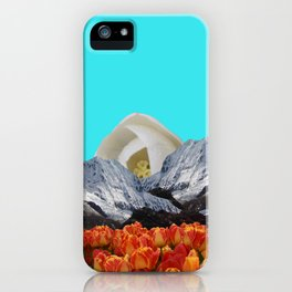 Glacial Tulips iPhone Case
