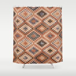 Arizona Southwestern Tribal Print Shower Curtain