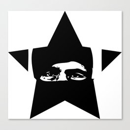 Rebel Star Canvas Print