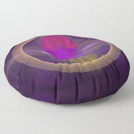 Abstract Art - Circuitry Floor Pillow