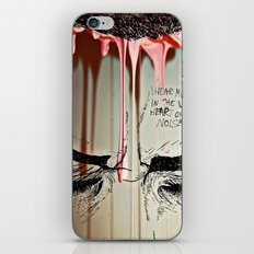 My Music Is Where I'd Like you Touch iPhone & iPod Skin