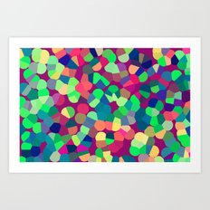 Pointillism  Art Print