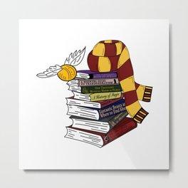 First Year at Hogwarts Metal Print