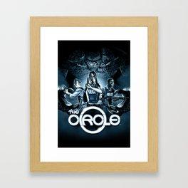 The Circle Framed Art Print