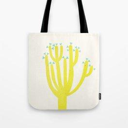 Modern Cactus Tote Bag