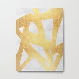 Golden expression V Metal Print
