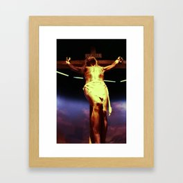 In The Presence Or The Lord Framed Art Print