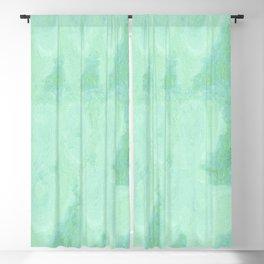 Blue Gray Cotton Fluff Blackout Curtain