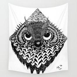 Owl Head Wall Tapestry
