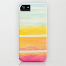 afternoon laughter iPhone Case