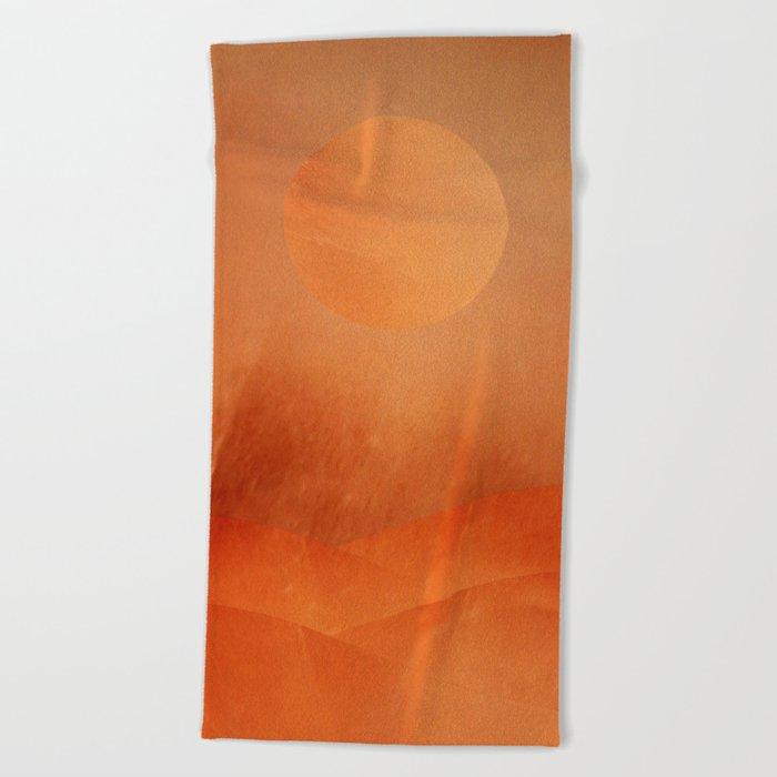 The Hills Beach Towel