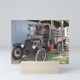 Old Form of Livestock Transport Mini Art Print
