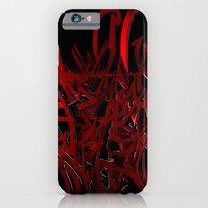 3d graffiti - Hell breaks loose Slim Case iPhone 6s