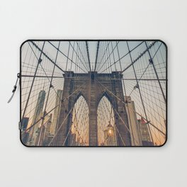 Brooklyn Bridge New York City Laptop Sleeve
