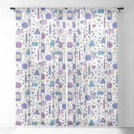 Galaxy Potions Sheer Curtain