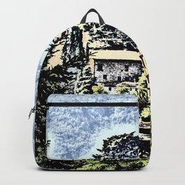 Duomo of Barga (dramatic) Backpack