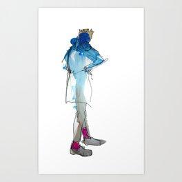 Kings Socks + Charing X Art Print