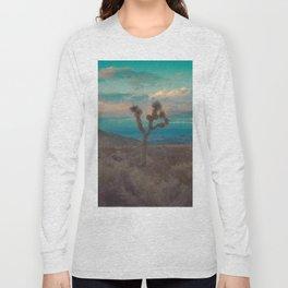 Joshua Tree Aqua Sunset Long Sleeve T-shirt