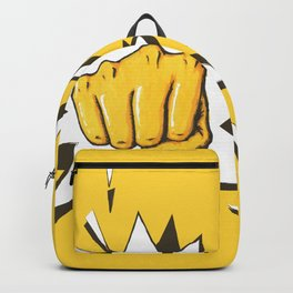Yellow Fist by Star Backpack