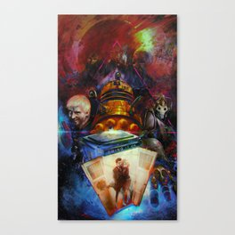 Doctor WHO : BRING IT ON ! Canvas Print