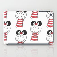 minnie iPad Cases featuring Minnie 4 by Little Moon Dance