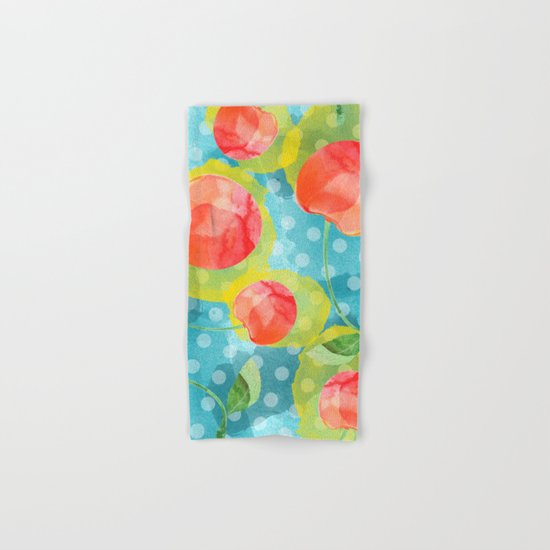 Cherries  Hand & Bath Towel