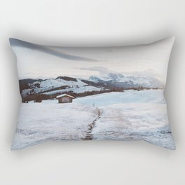 Alpine morning - Landscape and Nature Photography Rectangular Pillow