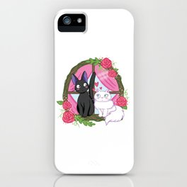 Jiji and Lily iPhone Case