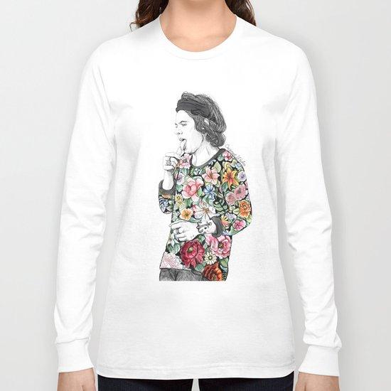 Harry  sketch  Long Sleeve T-shirt