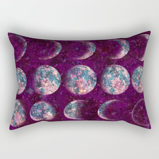 Celestial Moons Rectangular Pillow