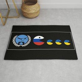 United Nations Russia and Ukraine Rug