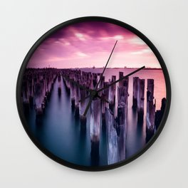 Silenzio Wall Clock