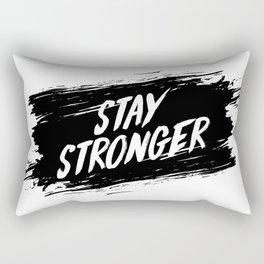 Stay Stronger Rectangular Pillow