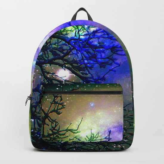 Stars Through The Trees Backpack