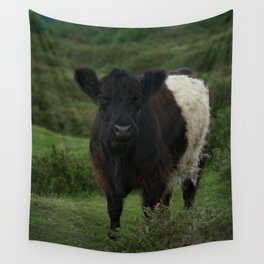 Belted Galloway Cow Wall Tapestry