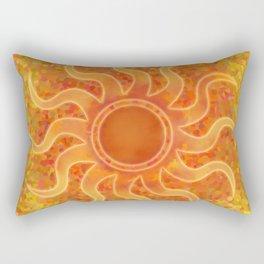 Energy Sun Rectangular Pillow